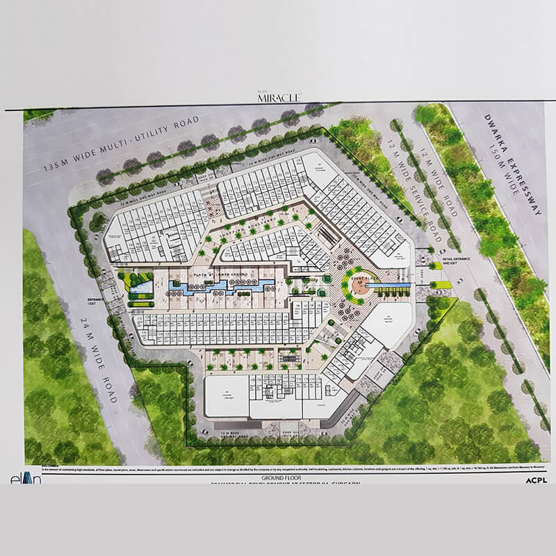elan miracle floor plan sector 84 gurgaon