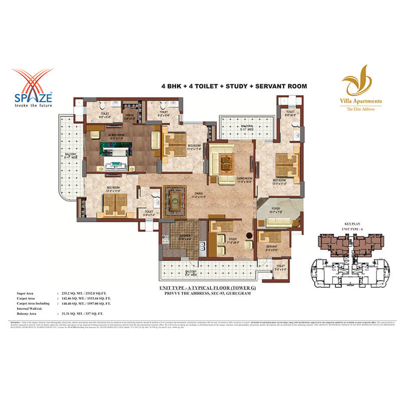 spaze villa apartments sector 93 gurgaon