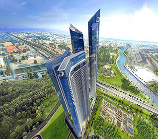 damac aykon city dubai uae apartments